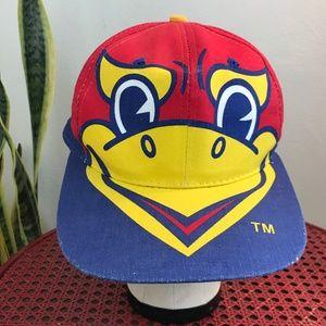 Vintage Kansas Jayhawks Kids Snapback Hat